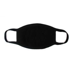 bufanda del airsoft Rebajas 1PC Unisex Máscara negra Algodón suave Máscara de respiración de invierno Anti-polvo Earloop Boca Cubierta de la cara Montar al aire libre