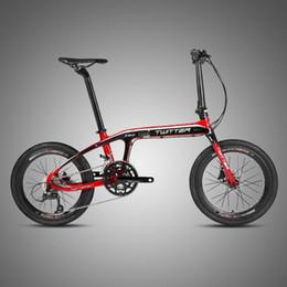 fahrrad 18 zoll Rabatt Faltrad Aluminiumlegierung 20 Zoll 16 Geschwindigkeit 18 Geschwindigkeit Doppelscheibenbremsen Erwachsene Unisex Faltbare Urban High Quality Fahrrad