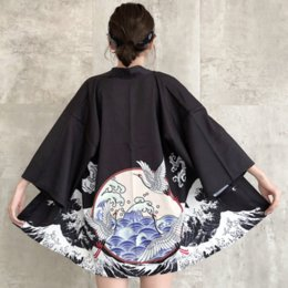 2019 Sommer plus Frauen Blumenspitze Kimono semi schiere solide vorne offen lange elegante vertuschen Strickjacke Tops von Fabrikanten