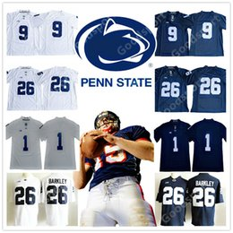 75396542d 2019 NCAA Penn State Nittany Lions COLLEGE 9 Trace McSorley 26 Saquon  Barkley Jersey Sport Mike Gesicki Shirt STITCHED FOOTBALL Twill penn state  jerseys ...