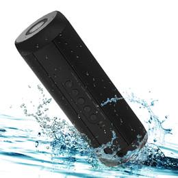 I migliori altoparlanti portatili del iphone online-Altoparlanti Bluetooth senza fili T2 Miglior impermeabile portatile altoparlante esterno Mini Colonna Box Speaker Design per Iphone Xiaomi T190704