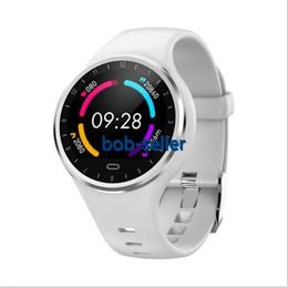 круглый набор интеллектуальных часов Скидка M8 Smart Watch Круглый Циферблат Монитор Сердечного ритма Фитнес-Спорт Smartwatch Водонепроницаемый Женщины Смарт-Браслет