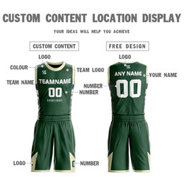 Sportkleidung china online-China benutzerdefinierte New Style Design billige Sublimation Basketball Trikots Uniformen Sport Kleidung Sets, Team Logo
