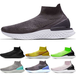 Argentina Rise React Hombres Mujeres Zapatillas Deportivas Casuales Triple Black Thunder Grey Lime Blast Amarillo brillante Aurora Green Trainer Sport Sneaker cheap lime green running shoes Suministro