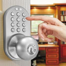 armários de cozinha brancos vermelhos Desconto Combinação exterior do Keyless eletrônico home da casa do botão da entrada de Keyless da fechadura da porta