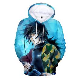 9470947d9 Men Women Sweatshirt Demon Slayer Kimetsu 3D Hoodies Plus Size Fashion Tops 3D  Print Demon Slayer boys Mens Sweatshirt Pullovers