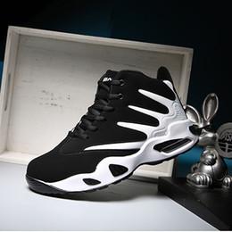 Heiße Art und Weise Marke Type7 schwarz weiß rot blau billig geschmeidigen bunten Designer Herren Basketball Schuhe Cool Man authentische Trainer