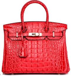 Canada Sac fourre-tout en crocodile 3D tout neuf en relief autruche, sacs à main, sacs à main, mariée, JP, original, Togo, sacs en cuir véritable USA cheap uk leather brands Offre
