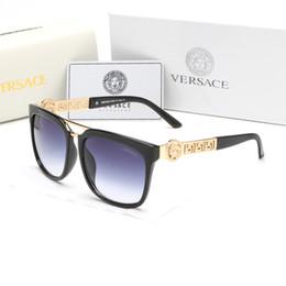 882bb32857 Estilo Italia marca Medusa Gafas de sol Medio marco Mujer Hombre Diseñador  de la marca Protección UV Gafas de sol Lentes transparentes y Lentes de  lentes