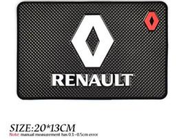 renault logo Rabatt Auto Auto Styling Matte Fall Für Renault Megane 2 3 Staubtuch Logan Clio Laguna 2 Captur Interior Logo Zubehör Car Styling
