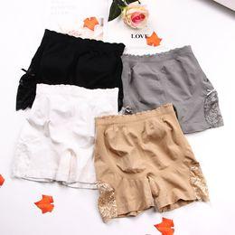 38e2e6290 Compre Mujeres Ropa Interior Sexy Pantalones Cortos De Seguridad ...
