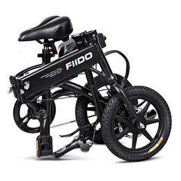 Fiido D1 Folding Mulher bicicleta elétrica Sistema de Suspensão 2 Rodas e da bicicleta da bicicleta Choque de
