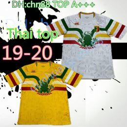 Argentina Equipo nacional de 2019 2020 Mali Soccer Jerseys Personalizado Cualquier nombre Cualquier número Inicio Concepto amarillo 19 20 Camiseta de camiseta de fútbol Uniforme supplier team soccer jerseys numbers Suministro