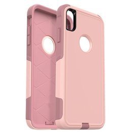 Caso xr iphone in forma sottile online-Per iPhone 8 più caso Slim Fit Shell plastica dura del PC TPU ultra caso della copertura del telefono mobile sottile per i casi di iPhone xr
