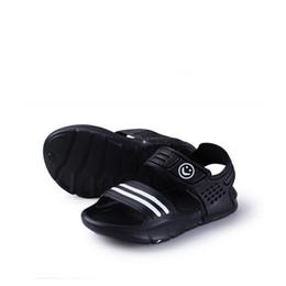 Envelopper les chaussures de bébé en Ligne-Nouveautés Arrivee doux Enfants Sandales Bébé Enfants Garçons Filles Sandales plates Chaussons pantoufles Livraison gratuite en gros