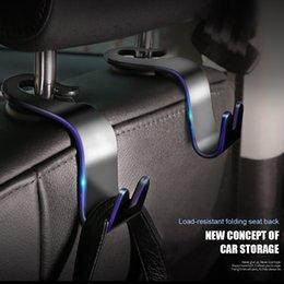 2019 rücksitzwagenorganisatoren Universal-Auto-Rücksitzkopfstütze Hanger Rear Seat Lagerung Haken für Einkaufstüte-Handtaschen-Organisator-Halter-Auto Innenausstattung günstig rücksitzwagenorganisatoren