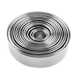 Canada 14pcs acier inoxydable boulettes rondes fabricant emballeurs moules ensemble outils de coupe Offre