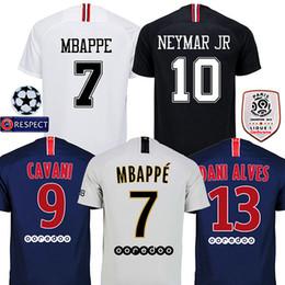 d5464571f 2018 2019 DANI ALVES MBAPPE psg maillot soccer jerseys 18 19 CAVANI  football shirt VERRATTI Camiseta PASTORE DI MARIA maillot. Supplier  isoccer