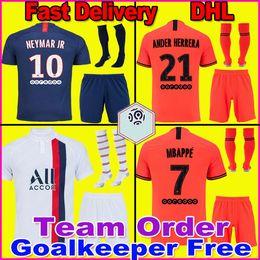Uomini camicie uv online-Maillots de Football Kit 19 20 Uomini di calcio maglia 2019 2020 camisetas jersey de futbol camicia