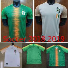 f6f2ef72c 2018 2019 World Cup Cote dIvoire GERVINHO Soccer Jersey Ivory Coast home  KALOU TOURE DROGBA 18 19 Football Shirt Uniforms