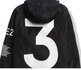 2019 chaqueta de viaje yeezus 2019 Chaqueta de hombre Chaqueta de Kanye West Chaqueta cortavientos para hombre Hip Hop Chaqueta de piloto para hombre Piloto Tour Yeezus Temporada Y3 Abrigo chaqueta de viaje yeezus baratos