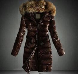 parka de algodón verde forrado mujeres Rebajas 2019 Las mujeres son más gruesas en invierno Chaqueta larga con capucha Abajo mujer Slim fit Cuello pesado Cuello de algodón acolchado XXXL