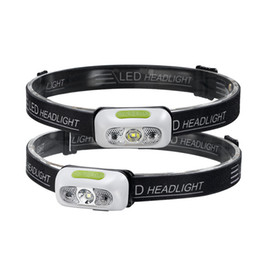 Linterna LED Antorcha a prueba de agua Lámpara de cabeza ultraligera para senderismo Camping Noche Pesca USB Batería de litio incorporada Luces de linterna 42g desde fabricantes