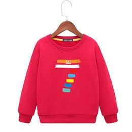 a5a369a2d0e Kids Hoodies 2018 Autumn Children s Clothes Korean Edition Girl Sweater  Cartoon New Pattern In Large Child Long Sleeves Bottoming Shirt Boy