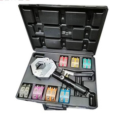 71500 Гидравлический обжимной инструмент Hydra Krimp AC Штуцер для кондиционера Шлифовальный станок с футляром cheap hose ac от Поставщики шланг переменного тока