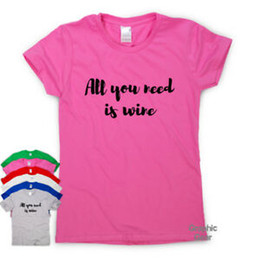 Working From Nine To Wine funny T shirts humour gift womens sarcastic slogan top