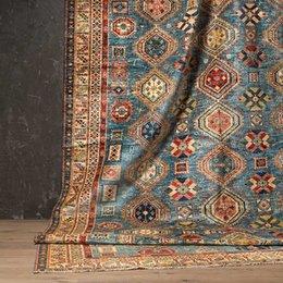 Tapicería de lana online-Pakistán Lana Manual Sistema continuo Continuo Una sala de estar Colección de alfombras Mashup Arts Tapices Carpetgc193kilimyg40