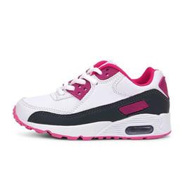 2019 scarpe da corsa leggera Nuovi Bambini Scarpe Air Leggero Anti-scivoloso Sneakers Sneakers Sport Running Bambini Scarpe Fondo Morbido Ragazzi Ragazze Scarpe Y190525 scarpe da corsa leggera economici