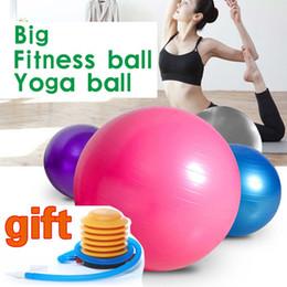(A366X) Yoga Ball Green Exercise Pilates Balance Fitness Gymnastic Gift Air Pump Novità da regali ginnastici fornitori