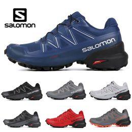 Scarpe sportive mens impermeabili online-2019 Nuovo Salomon Speedcross 5 CS uomo donna Scarpe da corsa top qualità mens scarpe da ginnastica impermeabile atletica scarpe da ginnastica da jogging escursionismo