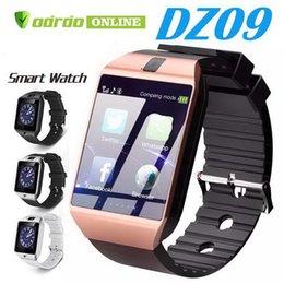Dz09 smart watch bileklik saatler android smartwatch adımlı anti-kayıp kamera ile sim akıllı cep telefonu kamera smart watch perakende kutusu nereden