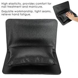 almofada de almofada de braço Desconto Macio Nail Art Mão Almofada Conjunto de Almofada de Braço de Descanso de Mão Almofada de Mesa Lavável Manicure Ferramenta 1