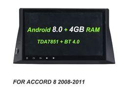 Argentina Reproductor de DVD GPS Glonass RDS Radio wifi Bluetooth HD IPS Android 8.0 4GB + 32GB +8 CORE Coche para Honda ACCORD 8 2008 2009 2010 2011 Suministro