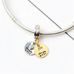 2019 baumelt armband liebe Liebe Wettbewerb 2 baumeln Legierung Charm Bead Modeschmuck atemberaubenden europäischen Stil fit für Pandora Armband Armreif rabatt baumelt armband liebe