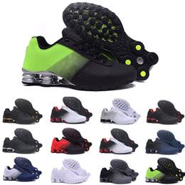 Hot Sale Shox Entregar 809 Homens mulheres Tênis de Corrida Atacado Famoso DELIVER OZ NZ Mens Tênis Esportivos Running Shoes 40-46 de
