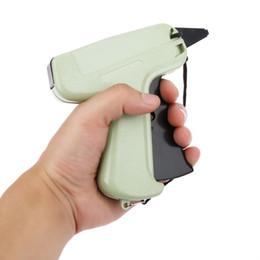 arma de roupas Desconto Nova Etiqueta de Preço do Vestuário Etiqueta de Pincel Tag Gun 1000 Farpas + 5 Agulhas Rotulagem e Etiquetagem Suprimentos