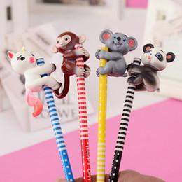 Happy Pack Baby Monkey Rose Pencil Top Cap Interactive Baby Pet giocattolo intelligente punta Monkey Smart Pet Monkey da