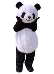 bear fancy dress Promo Codes - Cheap New wedding Panda Bear Mascot Costume Fancy Dress Adult Size