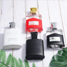 Weihnachtsgeschenke boxen online-CREED Fragrances Herren Parfum Parfum Dauerduft Deodorant Parfumes Spray Weihrauch 100ml 3.4oz Box Weihnachtsgeschenk xxp14