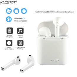 Argentina KLFSIGN i7s TWS Auricular inalámbrico Bluetooth Estéreo Auricular Auriculares Gemelos Auriculares Con caja de carga Mic Para todos los teléfonos inteligentes no Airpods supplier smart mic Suministro