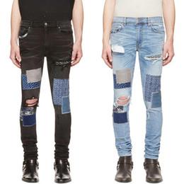 2019 jeans novo design legal Marca New Mens Designer Jeans Luxo Jeans Homens Mulheres afligido Zipper Ripped Denim Pants Mens Designer Pants Tamanho 29-42