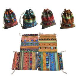1pc sacchetti di gioielli coulisse in cotone sacchetti regalo Lien Wedding favori organizzatore da bella borsa all'ingrosso fornitori