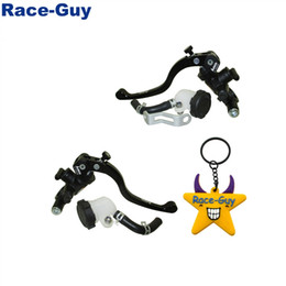hydraulic brake lever Coupons - 14x18 Left Right Racing Adelin Hydraulic Brake Clutch Master Cylinder Lever For Pit Dirt Bike Moped Scooter Motorcycle