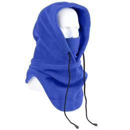 2019 máscara de esqui grossa Esportes Ao Ar Livre Tático Grosso Máscara Com Capuz À Prova de Vento Máscaras de Equitação Esqui Quente FG66 máscara de esqui grossa barato