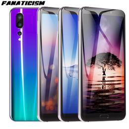 telefone tri sim Desconto Fanatismo Alta Qualidade Telefone Inteligente 6.1 polegadas MTK6580 quad core 1 GB RAM 8 GB ROM Celular Android 8.1 Desbloqueado 3G Telefone Móvel