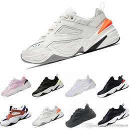 quality design fb905 1835d 2018 M2K Tekno Old grandpa Running Shoes For Men Women Sneakers Athletic  Trainers Professional Outdoor Sports Shoes 36-45